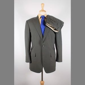 Brooks Brothers 40R 32x27 Pleated Suit B616